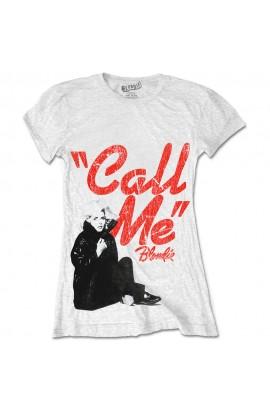 T-shirt Blondie Call Me