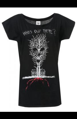 American Horror Story Cl/é T-Shirt Manches Courtes Noir