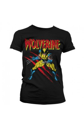 T-shirt Wolverine Scratches