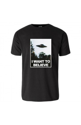 UNISEXE T-shirt I Want To Believe