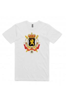 T-shirt Belgique Blason