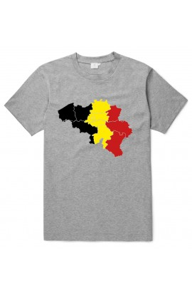 T-shirt Belgium Map