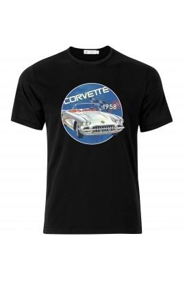 T-shirt Chevrolet Corvette 1958