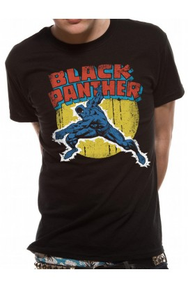 UNISEXE T-shirt Black Panther