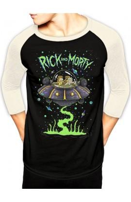 T-shirt R&M Spaceship