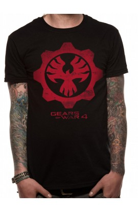 UNISEXE T-shirt Gears Of War 4