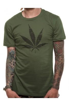 T-shirt Ganja Leaf