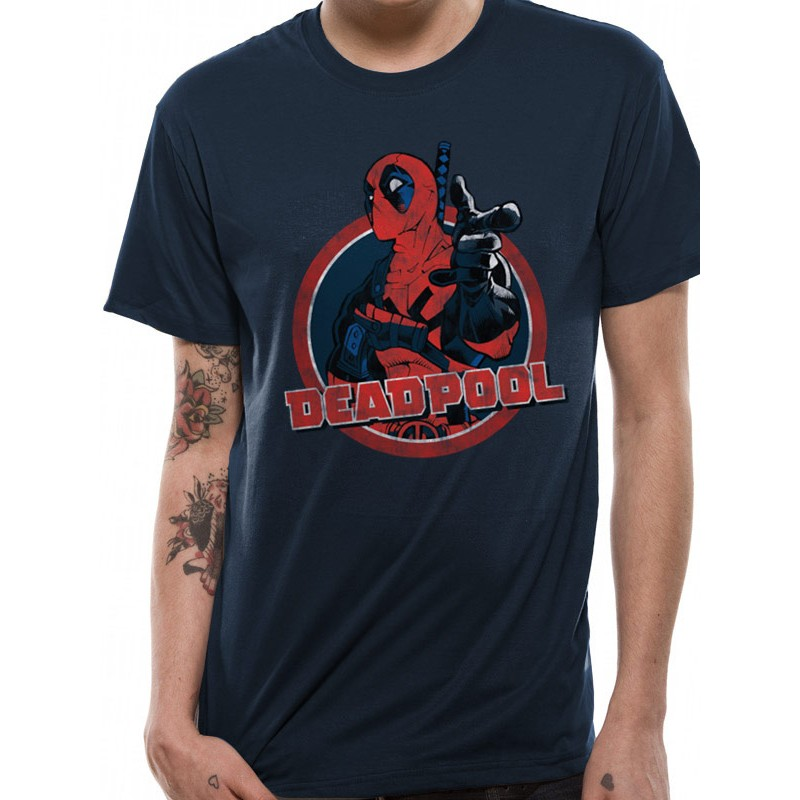 T-shirt Deadpool Point