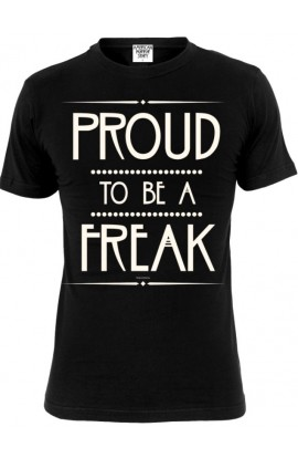 T-shirt Proud Freak