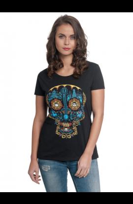 T-shirt Coco Blue Skull