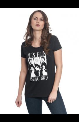 T-shirt It's Fun Being Bad