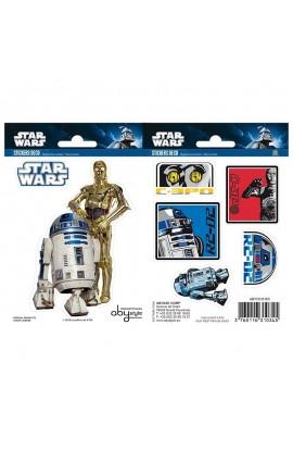 Stickers R2-D2 & C3PO